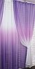 Готові штори в комплекті з тюлем, фото 6