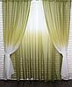 Готові штори в комплекті з тюлем, фото 8