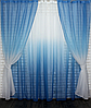 Готові штори в комплекті з тюлем, фото 9