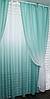 Готові штори в комплекті з тюлем, фото 2