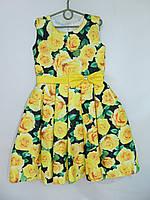 """Платье бальное на девочку (6-8 лет) """"California"""" ZR-27037"""
