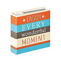 Фотоальбом Walther  Moments Enjoy ME-337-E  200ф. 10x15см. оранжевый