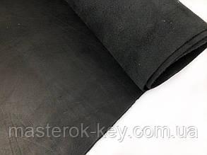 Кожа натуральная Краст т.1,1-1,2мм цвет черный