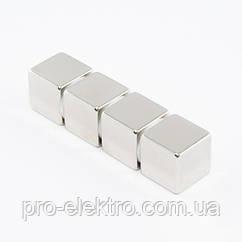 Неодимовий магніт куб 15х15х15 мм