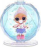Кукла Лол в шаре Новогоднее диско LOL Surprise Glitter Globe Winter Disco, фото 6