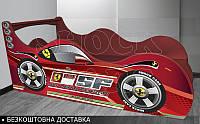 Кровать машина Феррари Shock Cars от 1400х700