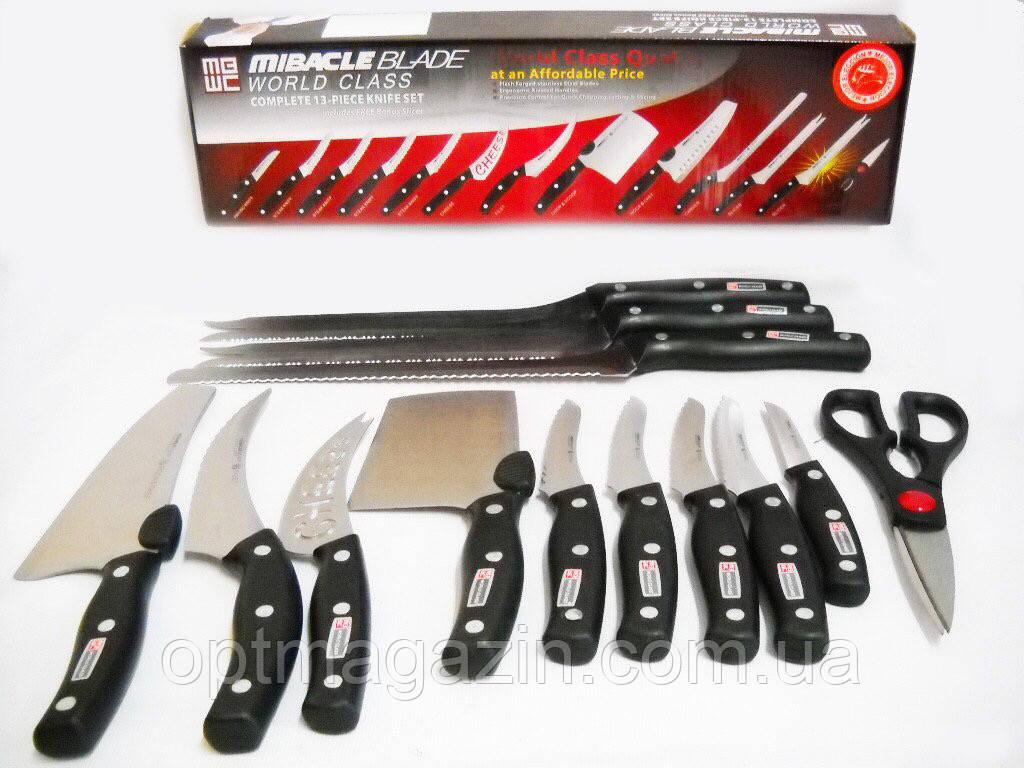 Набор кухонных ножей Mibacle Blade 13 в 1\ Кухонные ножи набор