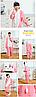Детская теплая пижама Hello Kitty в горошек, фото 2