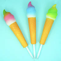 "Сквиши ""Ручка-Мороженое"", 21 см  мнялка, антистресс для рук (Squishy), набор 12 шт"