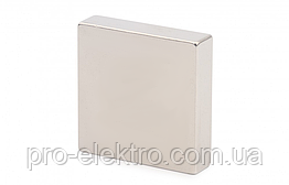 Неодимовий магніт квадрат 40х40х10 мм