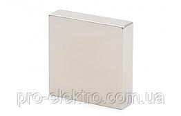 Неодимовый магнит квадрат 40х40х10 мм