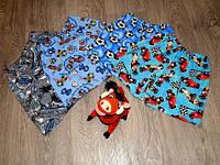 Шорты летние детские для мальчика, цветные 100% хлопок , гипоалергенные шорты детские
