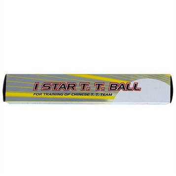 Мячи для настольного тенниса DHS 1 star , упаковка 6 шт.