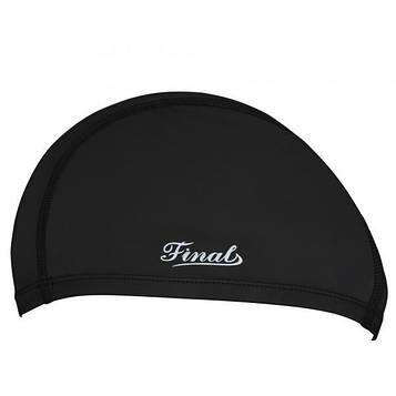 Шапочка для плавания Final 2D универсальная черная PM-2D-black