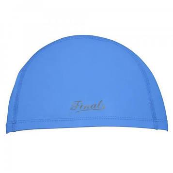 Шапочка для плавания Final 2D универсальная синяя PM-2D-blue