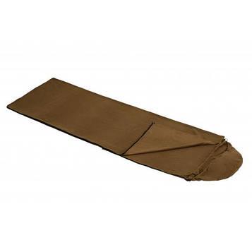 Спальный мешок (вкладыш для спальника) Champion флисовый, цвет койот А00254