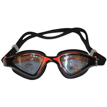 Очки для плавания JIEJIA черно-красный