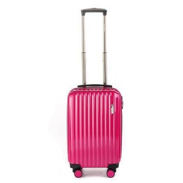 Чемодан пластиковый Sumdex 4-х колёсный (малый) розовый
