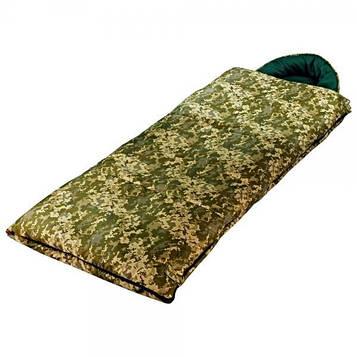 Спальный мешок Champion турист правый камуфляж