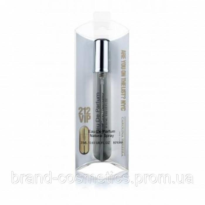 Женский мини парфюм Carolina Herrera 212 VIP, 20 мл