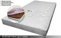 Матрас ортопедический Форсаж 7 см. БЕСПЛАТНАЯ ДОСТАВКА в комплекте с кроватью машиной