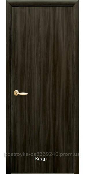 Двери межкомнатные Колори Стандарт Новый Стиль Экошпон глухие 60, 70, 80, 90