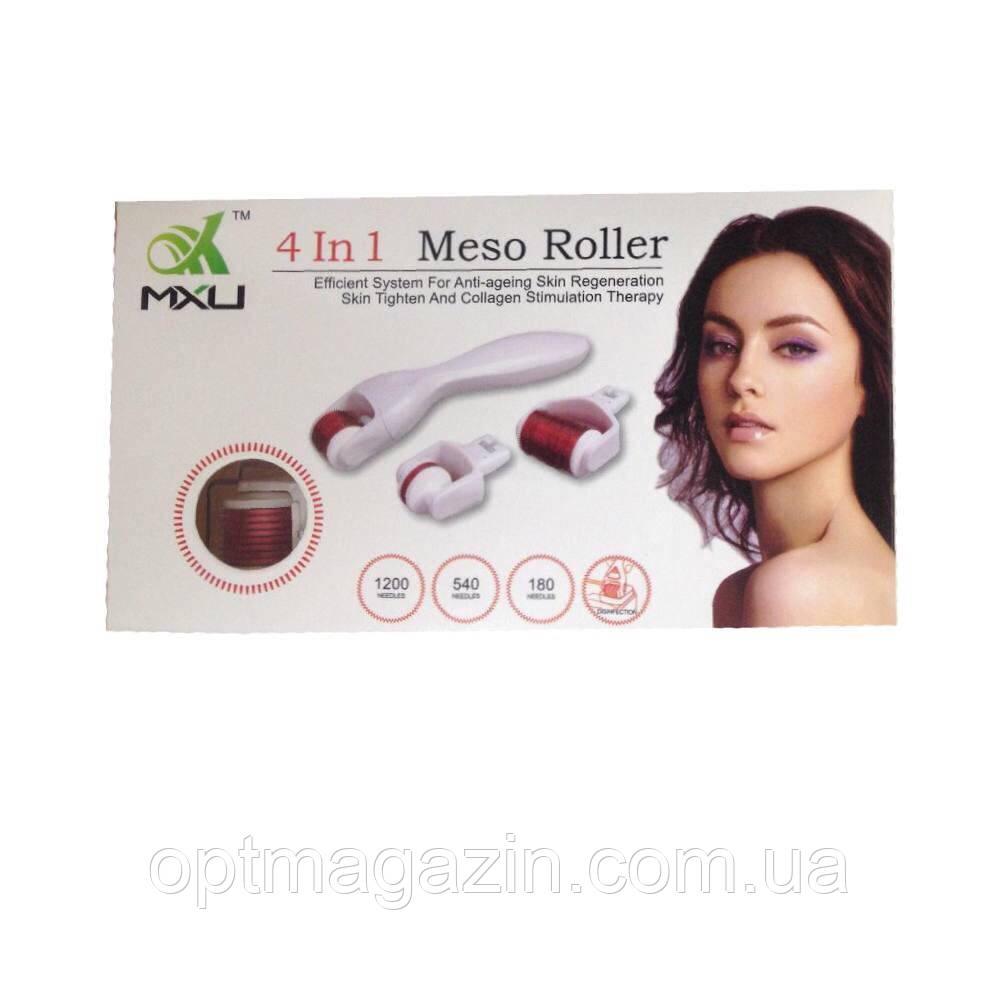Мезороллер Mezo Roller 4 в 1
