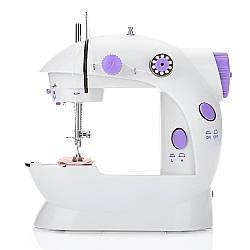 Міні швейна машинка 4 в 1 з педаллю FHSM 202 + адаптер 220V (7172)