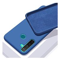 Чехол Silicone Case FULL для Realme С3 синий (Реалми с3)