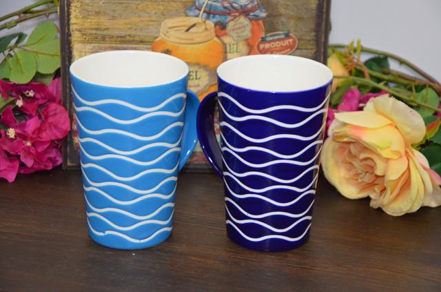 """Чашка в подарочной упаковке """"Голубой океан"""" (фото)"""