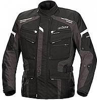Мотокуртка текстильная Buse Torino Evo черно-серая, 46