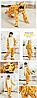 Пижама детская кигуруми жираф, фото 2