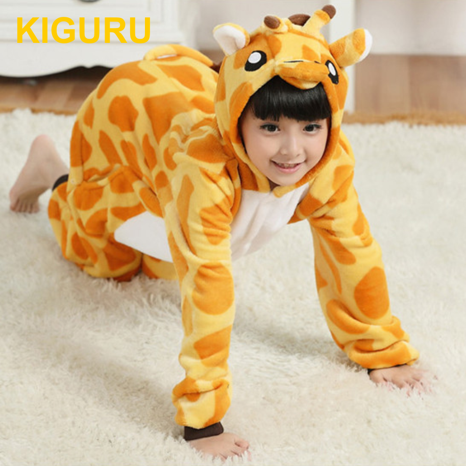 Пижама детская кигуруми жираф