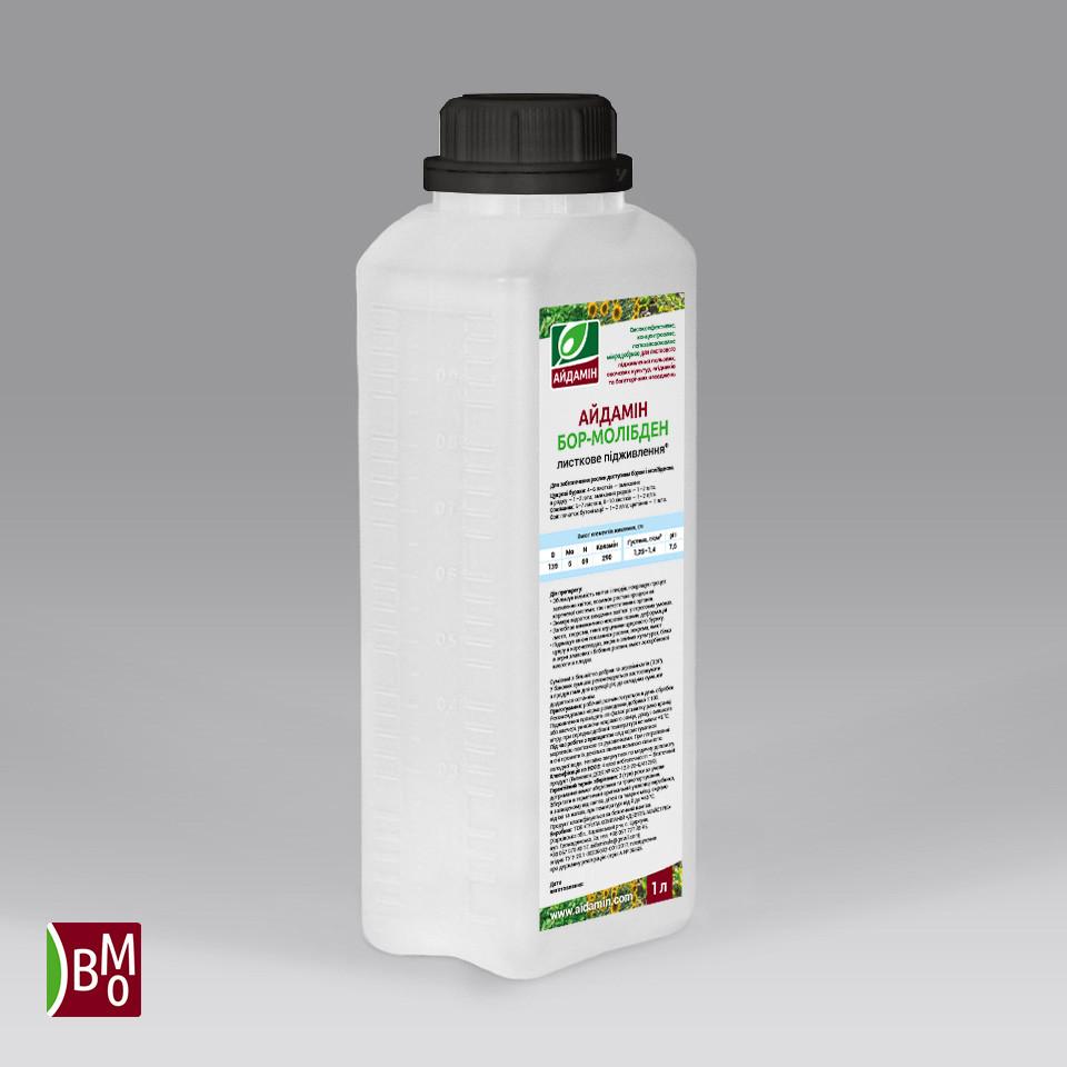 Айдамин Бор Молибден — микроудобрение листовое концентрированное жидкое