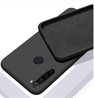 Чехол Silicone Case FULL для Realme С3 черный (Реалми с3)