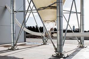 Система взвешивания корма под силос 27 т, 32 т,