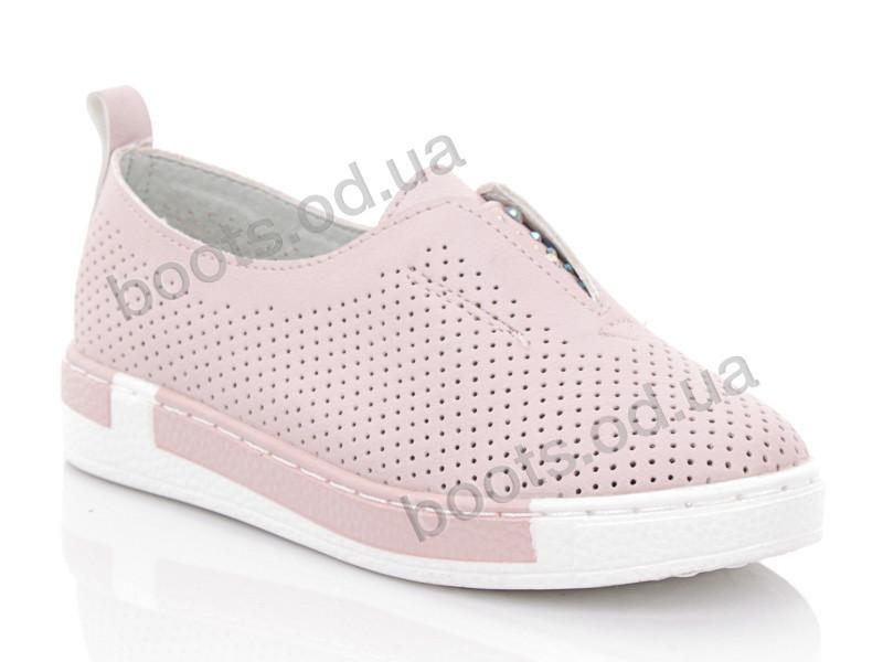 """Слипоны  детские """"Beesky-Kellaifeng"""" #KF81535-3. р-р 26-31. Цвет розовый. Оптом"""