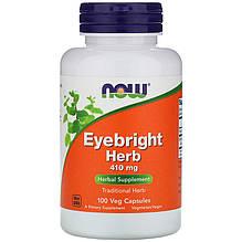 """Очанка лекарственная NOW Foods """"Eyebright Herb"""" 410 мг (100 капсул)"""
