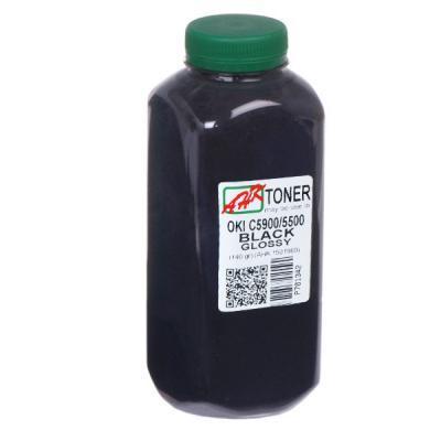 Тонер OKI C5500/5550/5800/5900 140г Glossy Black AHK (1501960)