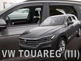Дефлекторы окон (ветровики)   VW Touareg  III   2018 -> 5D 4шт (Heko)