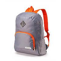 Универсальный рюкзак Кемпинг City style серебристый