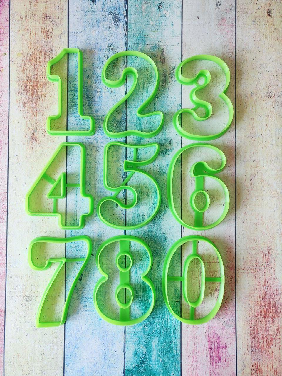 Формочки для пряников, вырубки Цифры №6