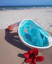 Дайвинг Маска Полнолицевая для подводного плавания и снорклинга/все размеры и цвета с креплением для камеры🐬