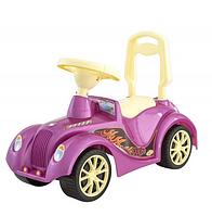 Детские машинки каталки толокары.Детские машинки каталки для девочек.Машина-толокар Ретро розовая.