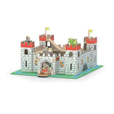 Игровой набор Viga Toys Деревянный замок (50310)