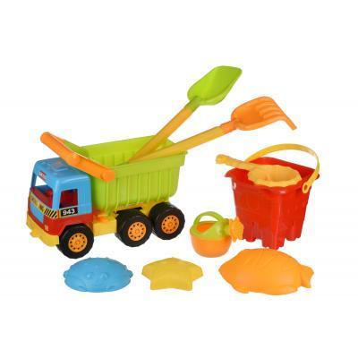 Игрушка для песка Same Toy Самосвал (9 ед.) (943UT)