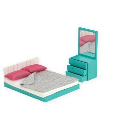 Ігровий набір LORI Меблі для спальні (LO37013Z)