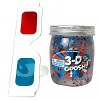 Набор для творчества Compound Kings Лизун с 3D эффектом с очками Красный-Белый-Голубой 226 г (300116-1)