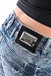 Джинсы женские OMAT jeans 9628-768 синие, фото 8
