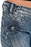 Джинсы женские OMAT jeans 9628-768 синие, фото 9